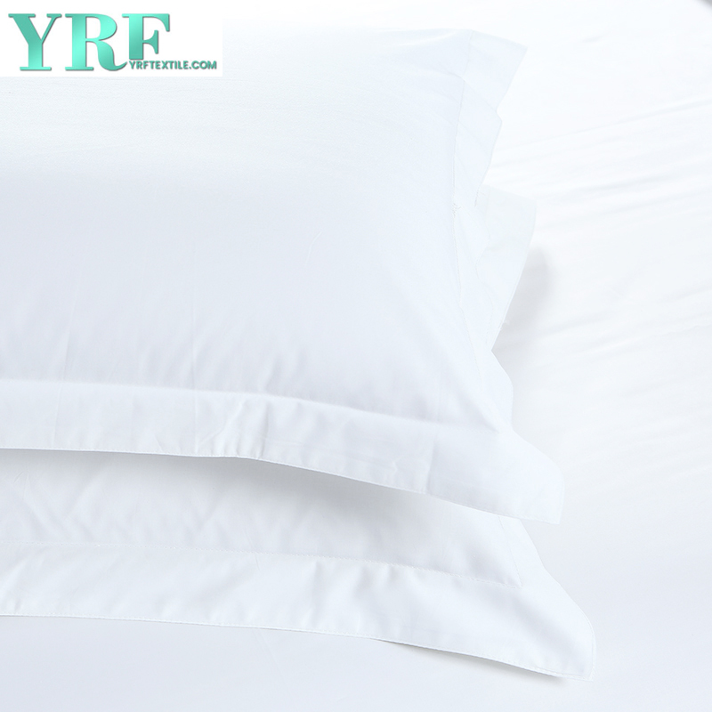 Weiß 400 Thread Count Egyptian Cotton Hotel Bettwäsche Twin-Size